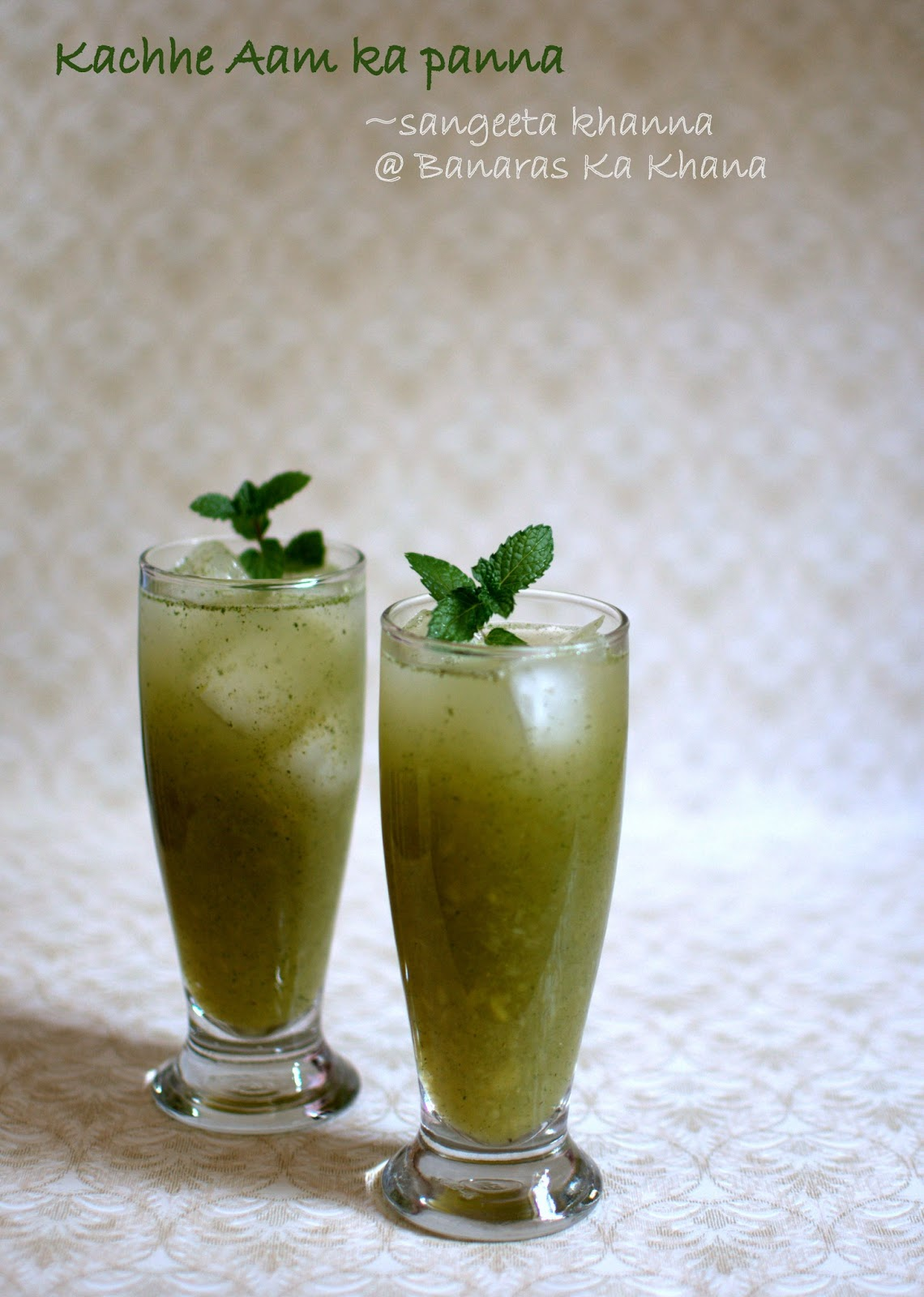 kachhe aam ka panna : preparing aam panna concentrate to last a week ...
