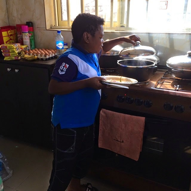 osita iheme cooking kitchen