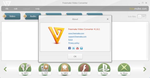 Freemake Video Converter 4.1.6.1 Full Keygen