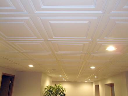 the best way to go about choosing tiles for your ceiling is to decide