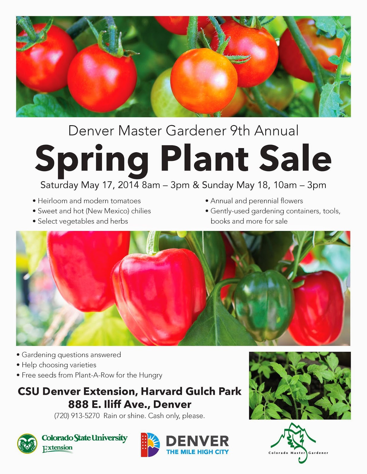Plant Sale in Denver this Weekend