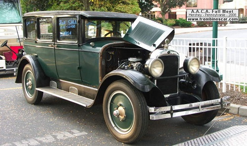 Advanced six sedan 1927 for 1927 nash 4 door sedan