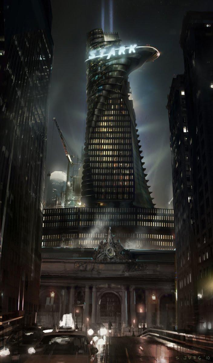 Art Of Steve Jung Stark Tower Studies