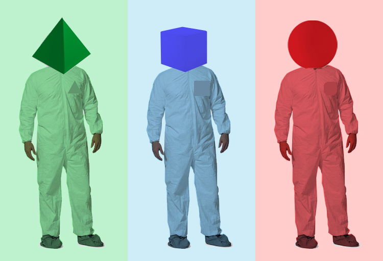 Adult Workers. After researching costumes the shape adults developed into ...