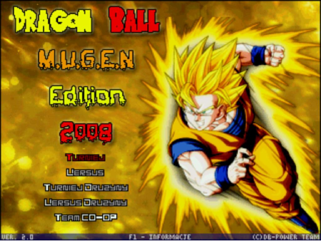 Dragon Ball z Mugen Edition 2011 Dragon Ball Mugen Edition 2008