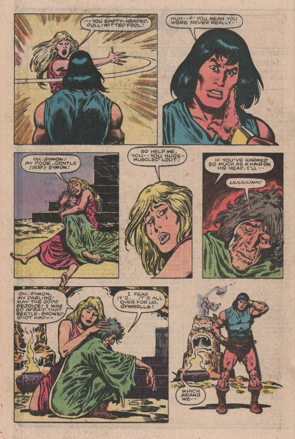 Conan the Barbarian (1970) Issue #157 #169 - English 15
