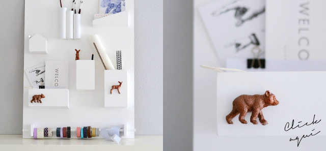 diy organizador pared
