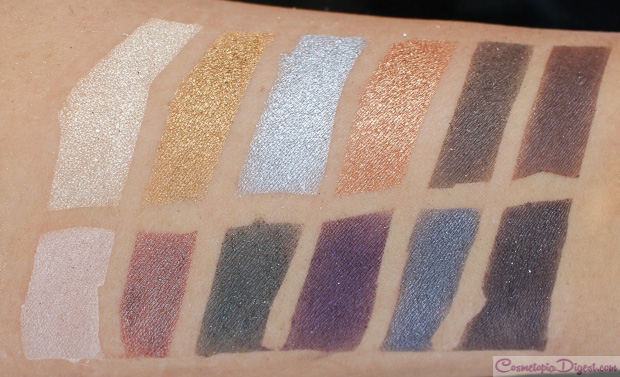 Cargo Cosmetics Let's Meet In Paris eyeshadow palette review, swatches