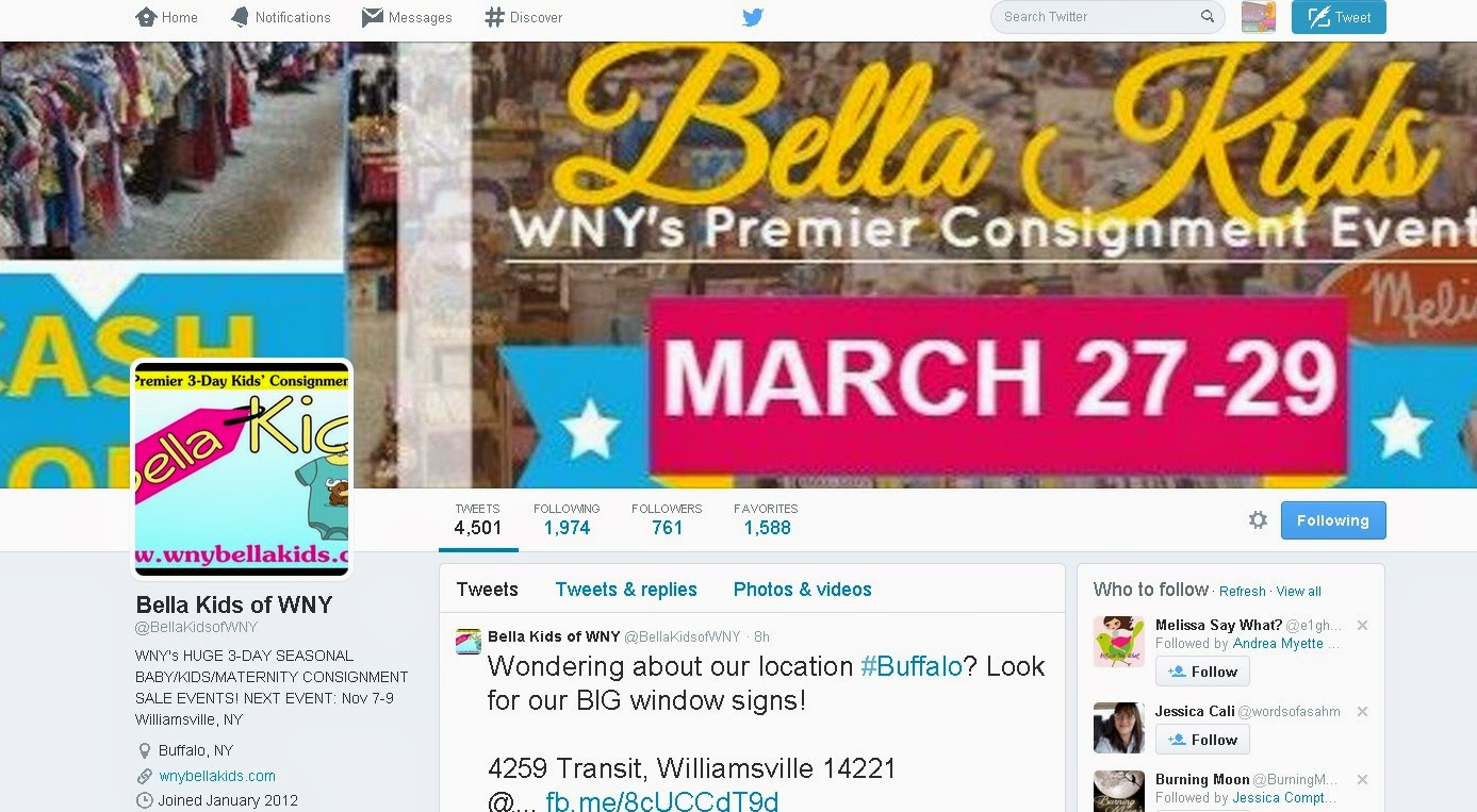 Bella Kids Twitter