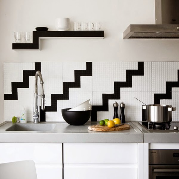 Unique Creative Kitchen Backsplash Ideas