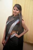 Model Shehnaaz Glam pics in saree-thumbnail-7