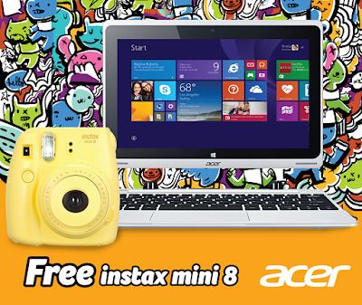 Acer Instax Mini 8 Promo