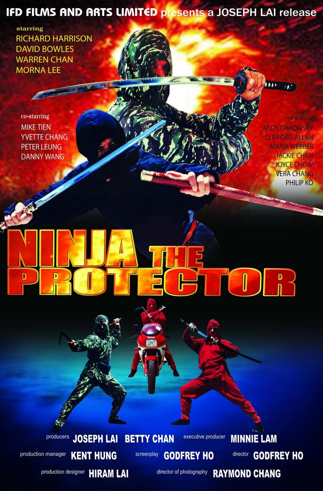 Ninja The Protector (1986) DVDrip Dual + Subtitulos MultiHos