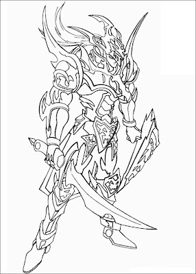 Yugi Oh Coloring Pages