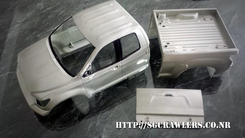 tamiya - Boolean21's Tamiya Highlift Tundra - new paint scheme - Ivan Stewart Toyota Theme 20140730_135555