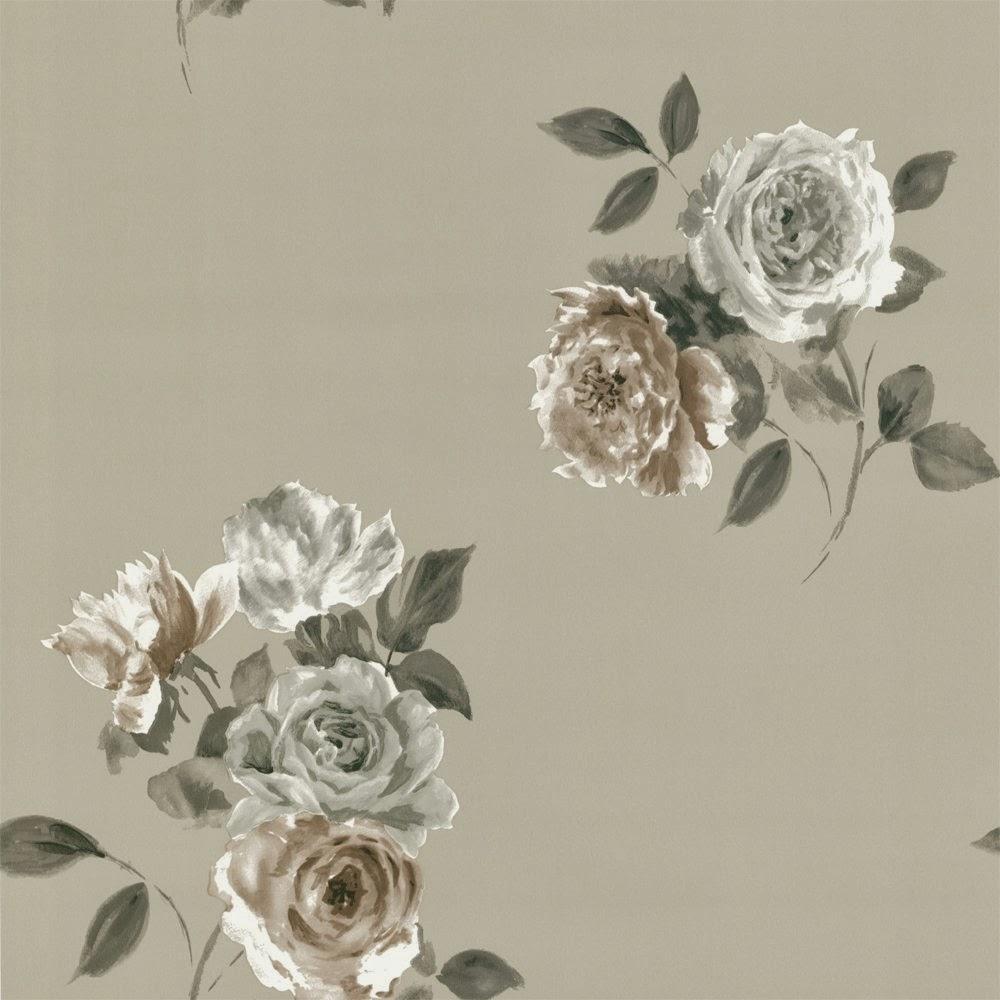 Pink Vintage Floral Wallpaper desktop wallpaper (1000 x 1000 )