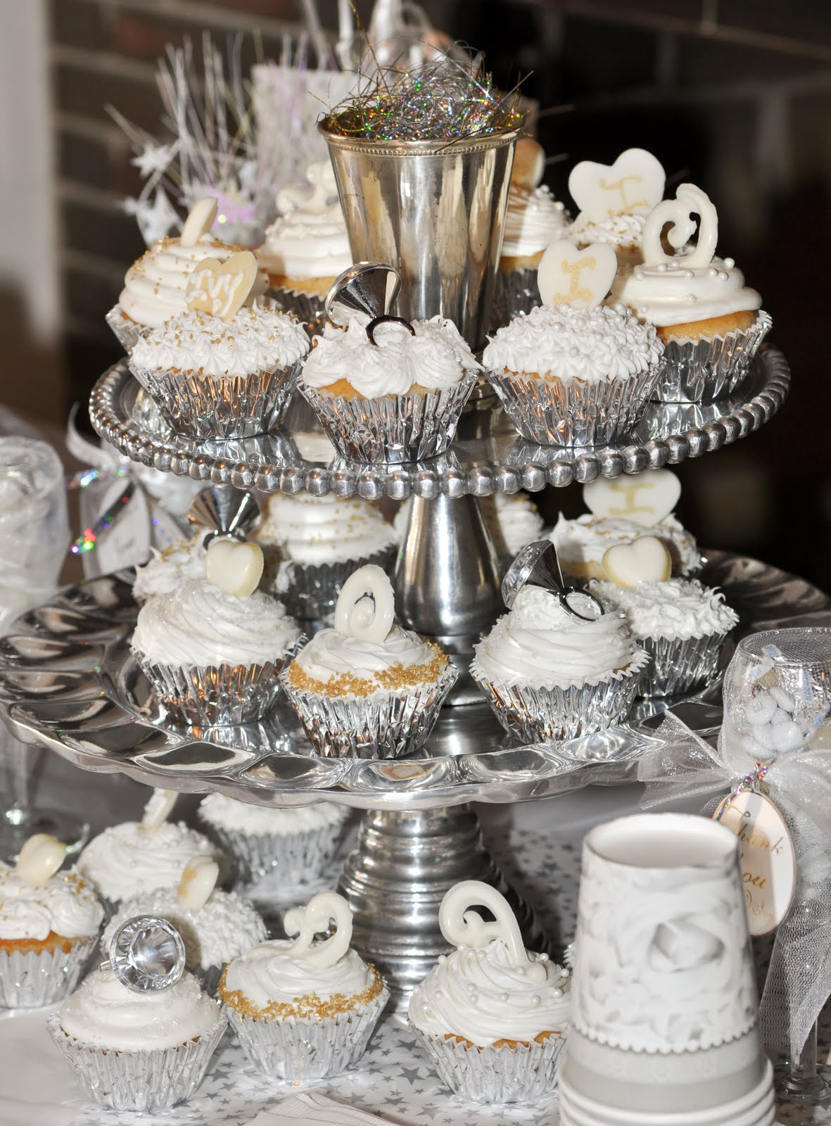 Indulge With Me: White cupcakes