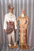 Baju Pengantin Krim-Coklat