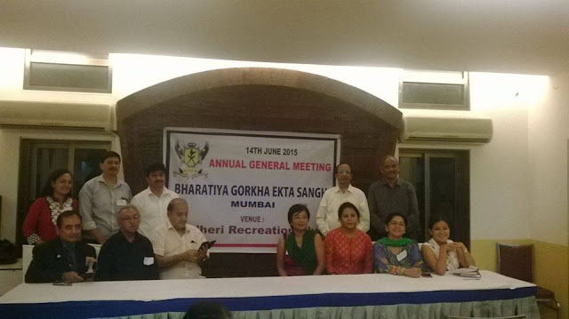 Annual General Meeting of Bharatiya Gorkha Ekta Sangh, ( BGES)