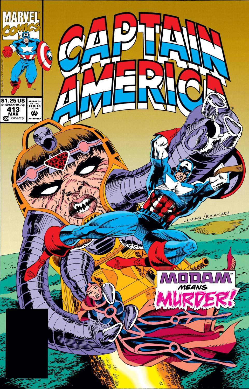 Captain America (1968) Issue #413 #362 - English 1