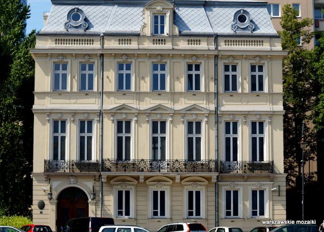 Czackich Zielna  49 Heurich Warszawa Warsaw Śródmieście pałacyk