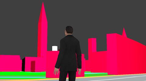 Una pequeña vista previa (aun sin terminar) de como quedara la ciudad y Holmes