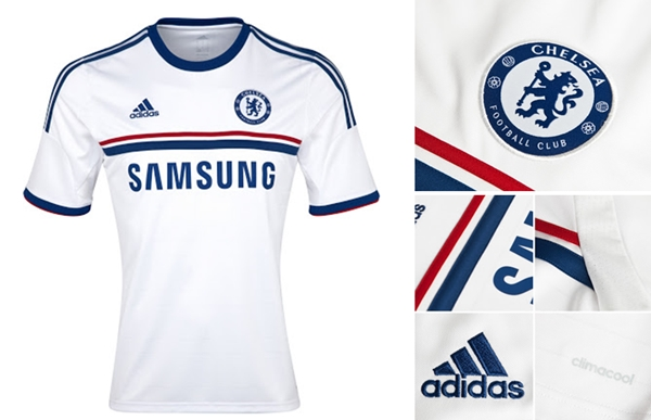 A Adidas preparou uma Camisa branca para o Chelsea  a1ca104f0e7c7