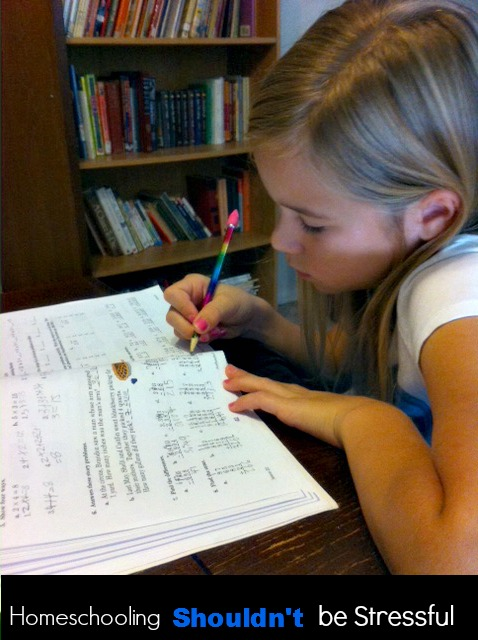 Homeschooling Shouldn't Be Stressful (A Series)