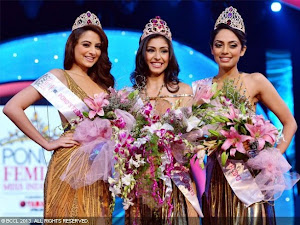 WINNERS OF THE MISS INDIA 2013 CONTEST