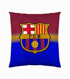 Funda cojín 60x60 FCBarcelona. ref: FUTC22 Euromoda