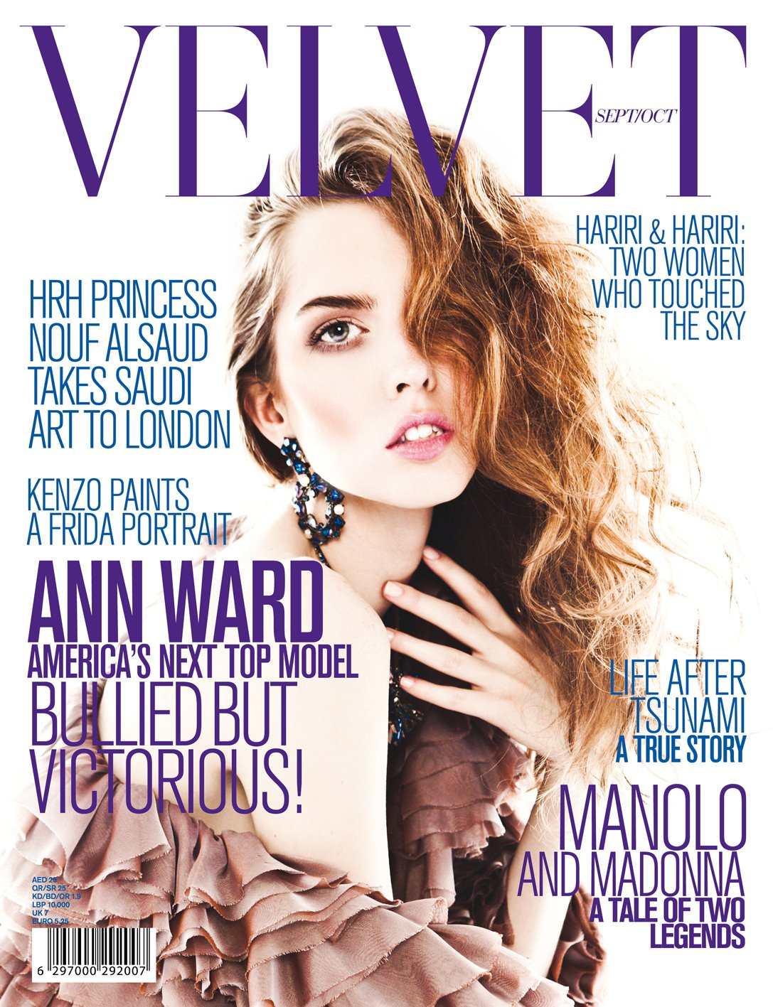Ann Ward Runway Ann Ward Covers Velvet