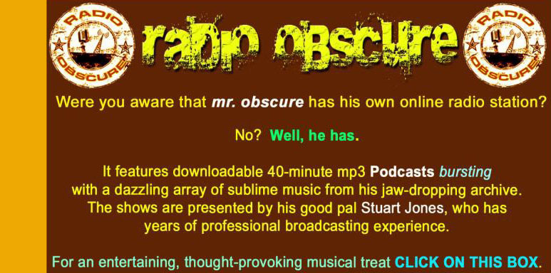 radio obscure
