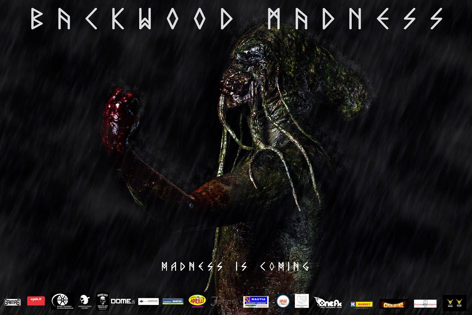 NÄKKI. Backwood Madness. Hirviöelokuva.