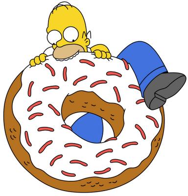 Eating eden our blog eat less - Homer simpson tout nu ...