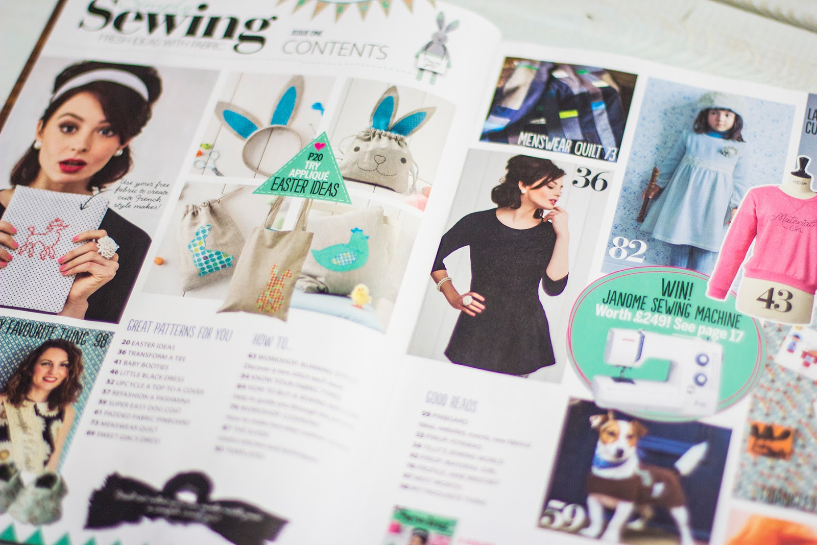 Live it love it make it february 2015 a good variety of clothing home sewing and crafty sewing projects make the first issue a nicely rounded overview of what is to come in future issues jeuxipadfo Image collections