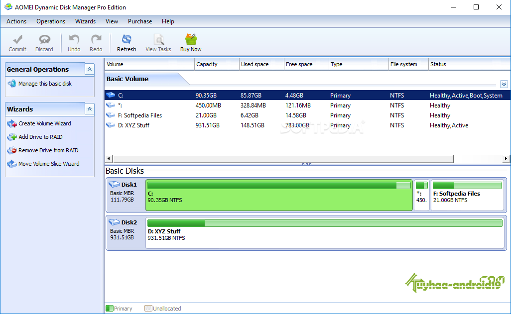 AOMEI Dynamic Disk Manager Pro kuyhaa