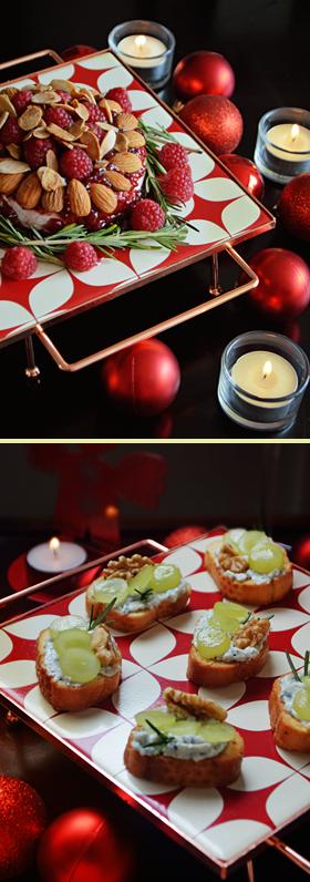 Receitas de aperitivos para o Natal