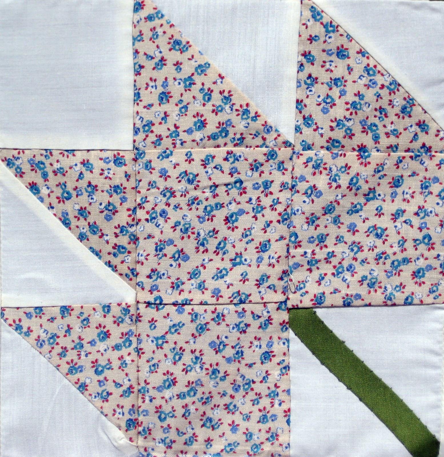 vintage grey: vintage maple leaf quilt