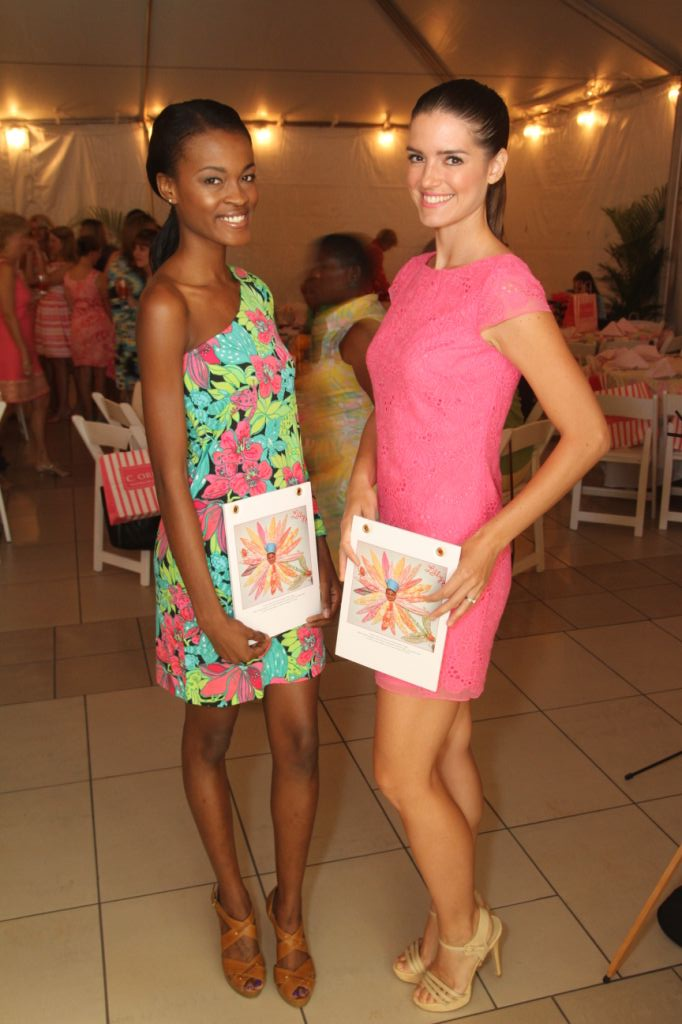 year-old violinist Willow Moffett serenaded Lilly Pulitzer Rousseau ...