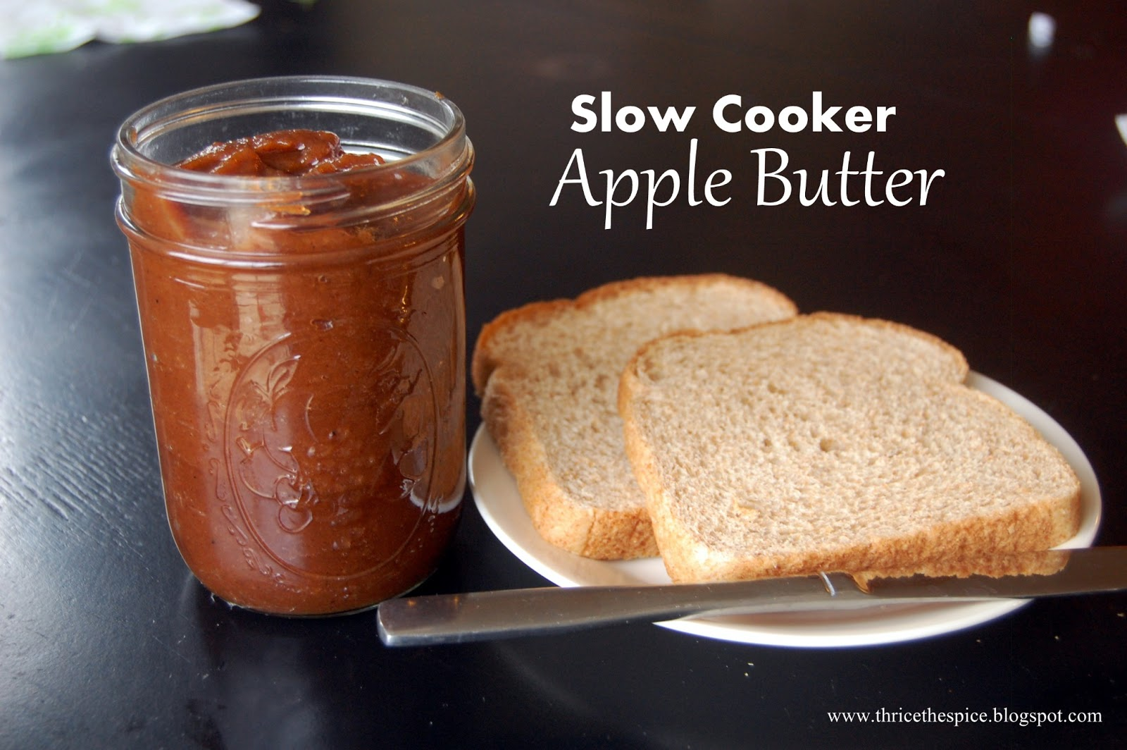 ThriceTheSpice: Slow Cooker Apple Butter