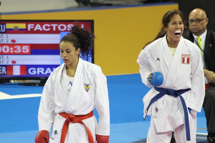 Alexandra Grande logró la cuarta medlla de oro para Perú en Toronto 2015