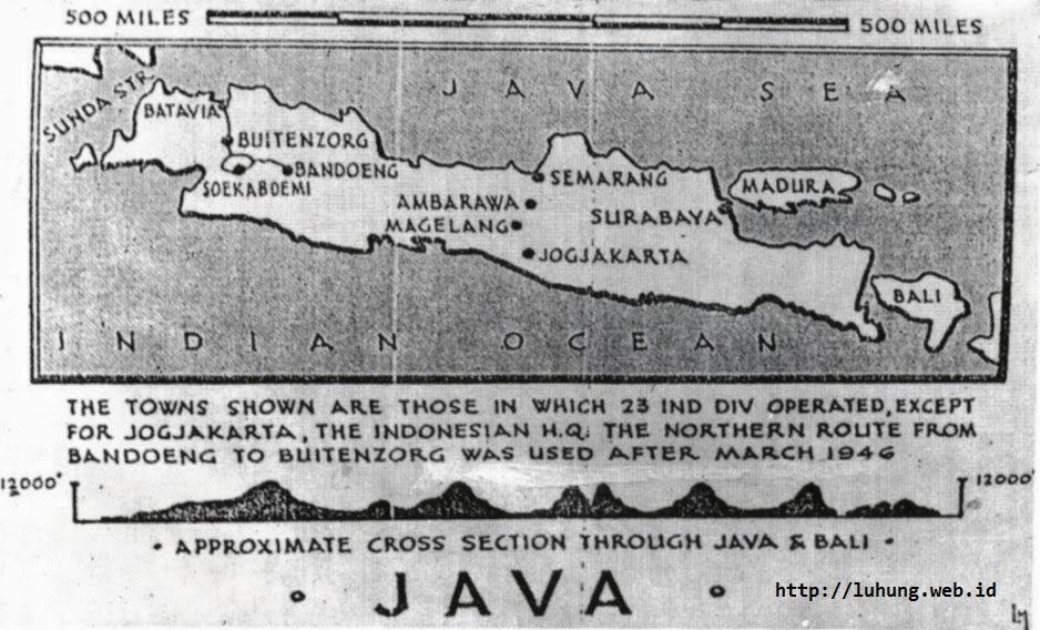 Kota-kota tempat operasi militer Divisi Ke-23 India