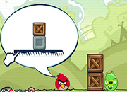 Angry Birds VS Green Pig
