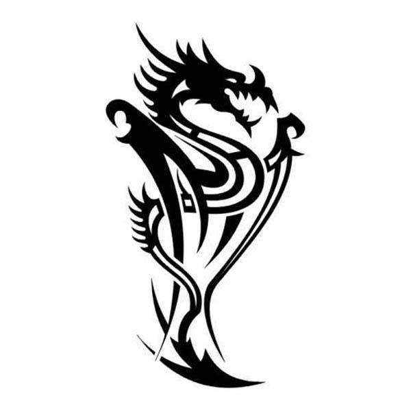 Tattoos Dragon Tattoo Stencils 3