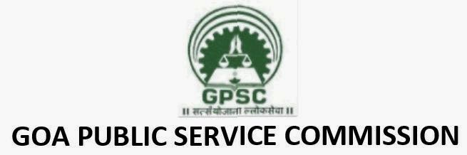 Goa PSC Recruitment May 2014