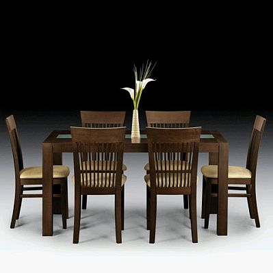 Muebles modernos de comedor de madera for Muebles de madera para comedor