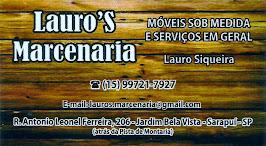 Lauro Marcenaria MÓVEIS SOB MEDIDAS E SERVIÇOS EM GERAL