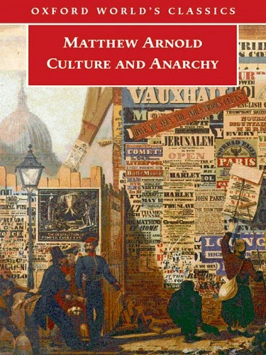 nikunj bhatti s assignments culture and anarchy by mathew arnold  by the celebrated victorian poet and critic mathew arnold this essay was first published in cornhill magazine during 1867 68