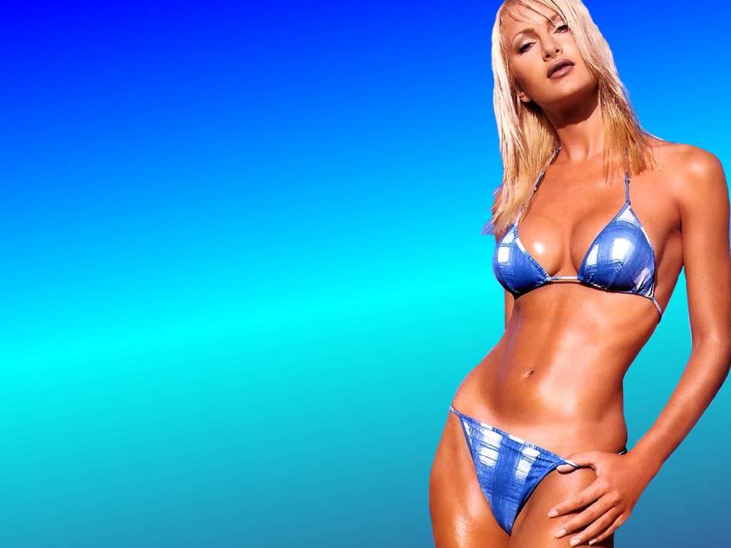 caprice bourret bikini modeling hd wallpapers 1024x768 desktop