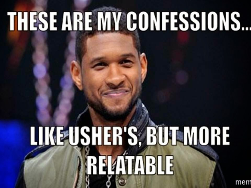 Usher These Are My Confessions Post by